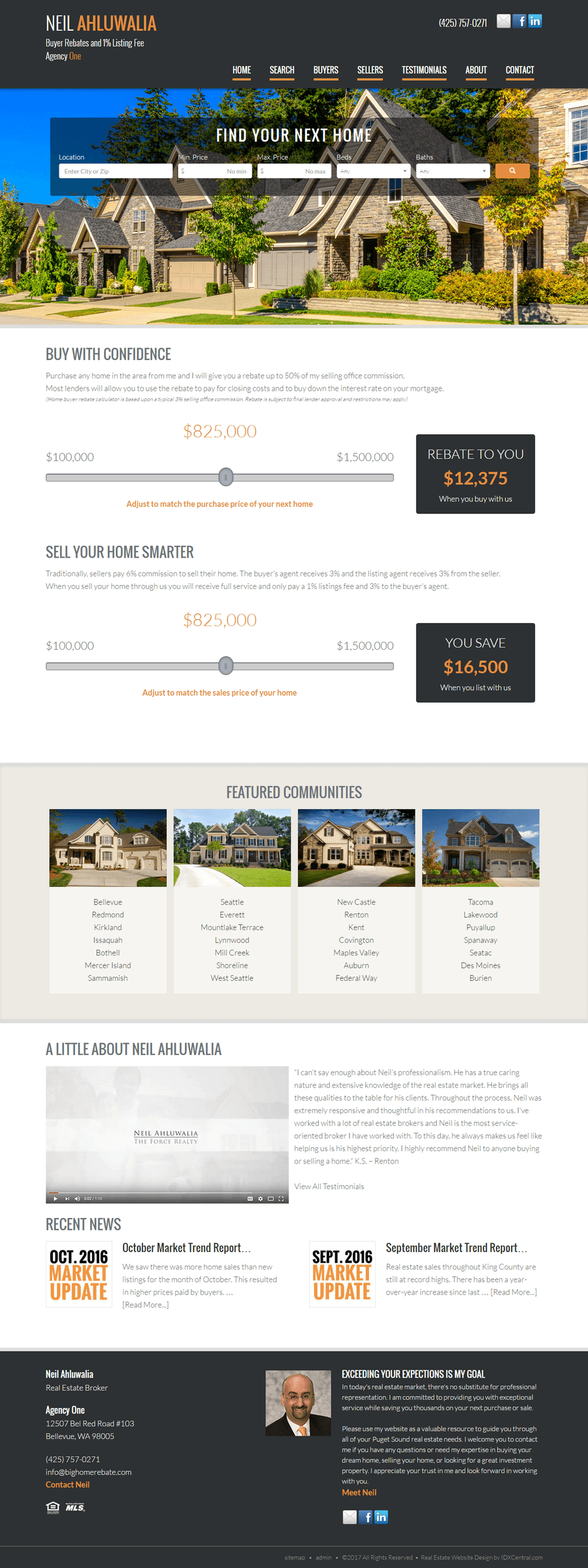 Create your own free wordpress real estate website for Website to build your own house