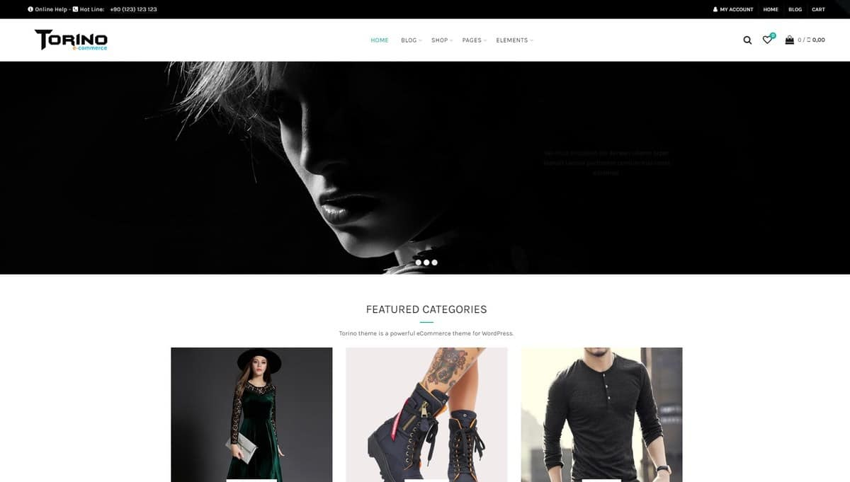 Torino e-Commerce WooCommerce Theme