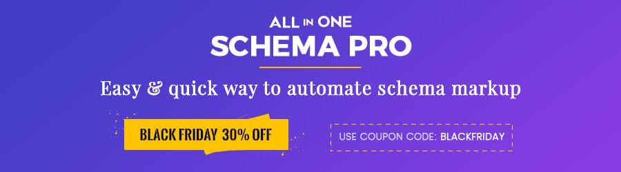 Schema Pro - 30% Off Black Friday