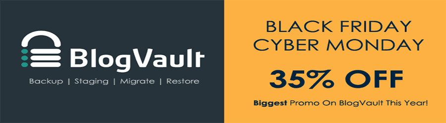 Blogvault - 35% off