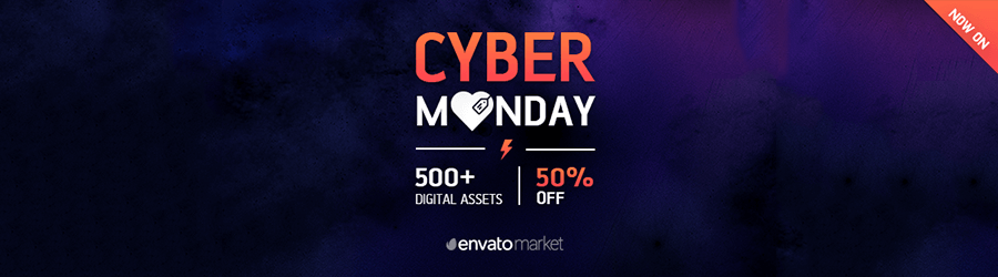 Envato - 50% off Black Friday / Cyber Monday