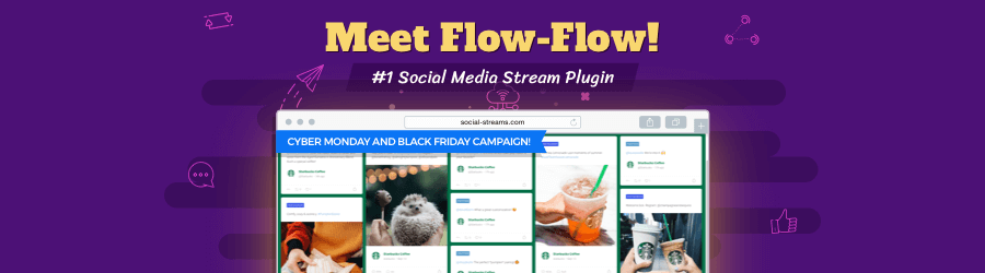 Flow-Flow Social Stream - 50% off Black Friday