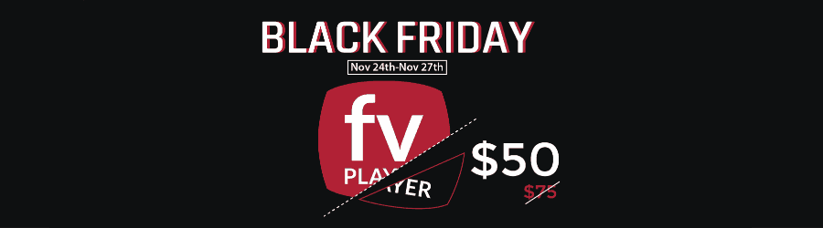 FV Player Pro - 30% off