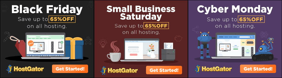 HostGator - 80% off