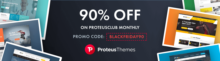 ProteusThemes - 90 off