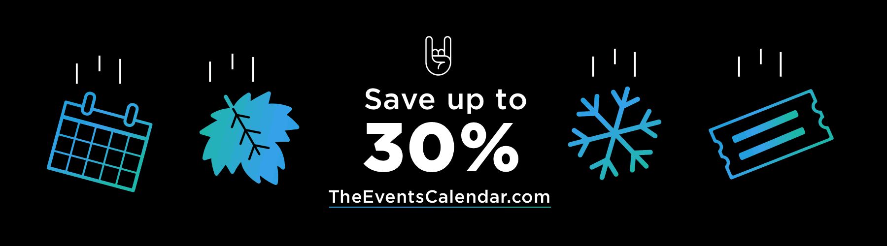 The Events Calendar - 30% Off Black Friday