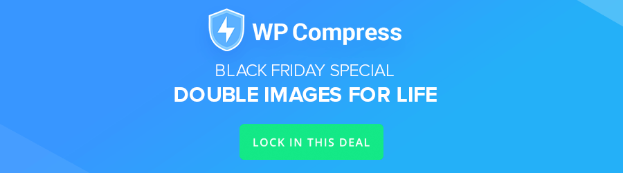 WP Compress - double credits for life
