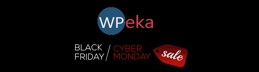 WPeka - 50% off Black Friday