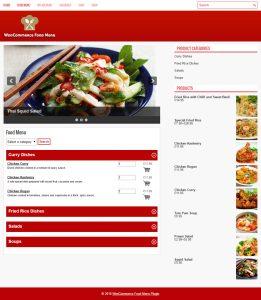 Foodify WordPress plugin