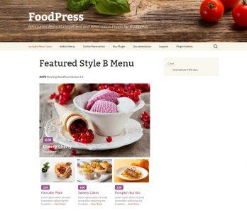 FoodPress WordPress plugin