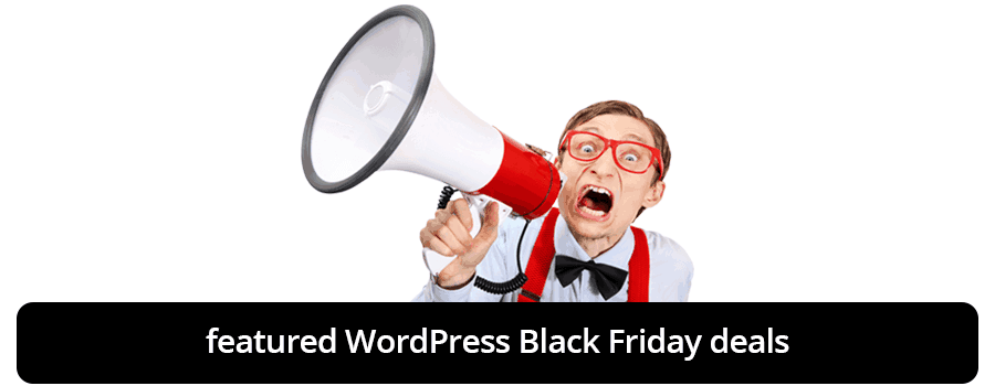 featured WordPress Black Friday deals