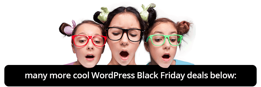 and more WordPress Black Friday deals below