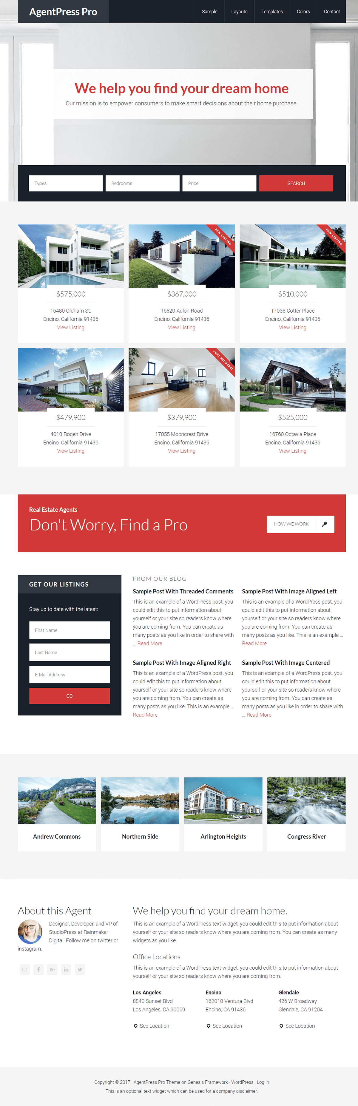 Create Your Own Free Wordpress Real Estate Website