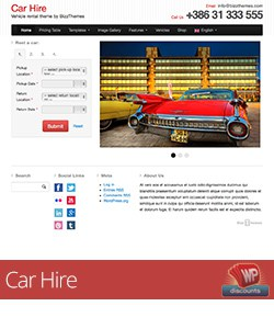 Car Hire from BizzThemes