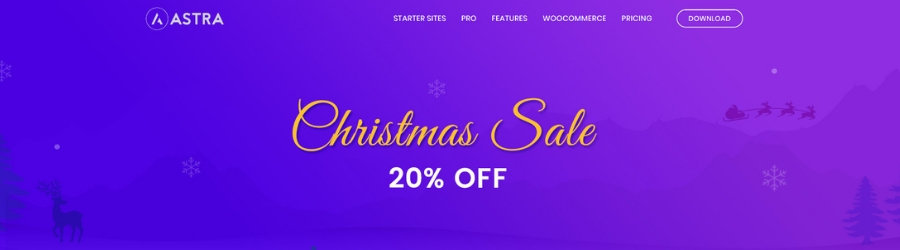 Astra Theme - 20% off